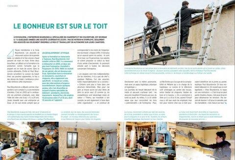 Charpentier couvreur en SCOP à Albi (Tarn) article.