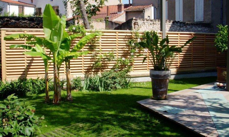 Aménagement extérieur bois à Albi Tarn